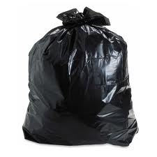 afvalzak zwart