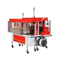 TP-701CCQ CORRUGATED STRAPPER with BUNDLE SQUARER